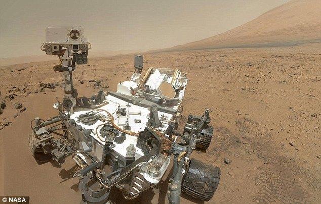 انسان در مریخ آیا ناسا دروغ می گوید,سایه انسان در حال تعمیر مریخ پیما,عکس انسان در مریخ,عکسی که ناسا از مریخ پیما منتشر کرد جنجال افرید,انسان در مریخ,ناسا