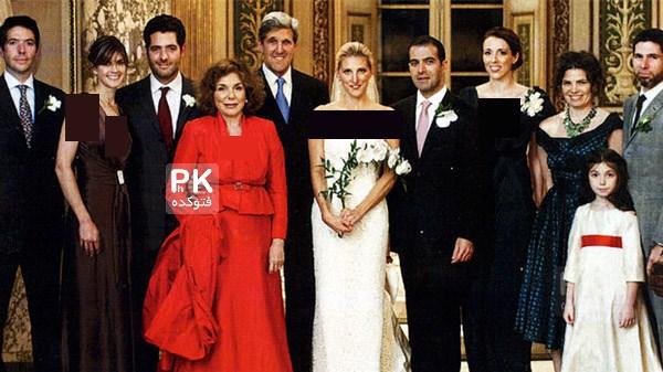 جنجال پسر جواد ظریف در عروسی وانسا دختر جان کری با عکس