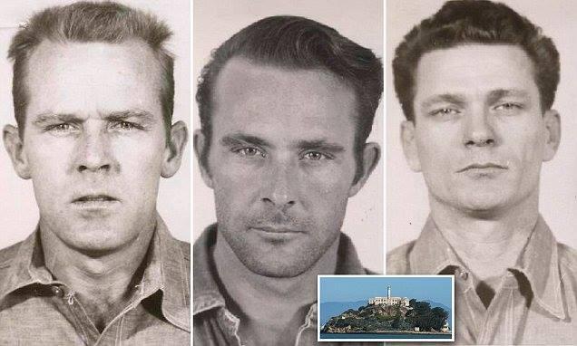 سه فراری معروف زندان آلکاتراز زنده اند باعکس,راز فرار 3 زندانی معروف آلکاتراز,سرنوشت محکومان فراری زندان آلکاتراز مشخص شد,محکومان فراری زندان مخوف آلکاتراز
