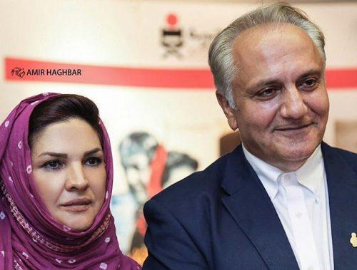 عکس مرحوم علی معلم و همسرش آذر معماریان