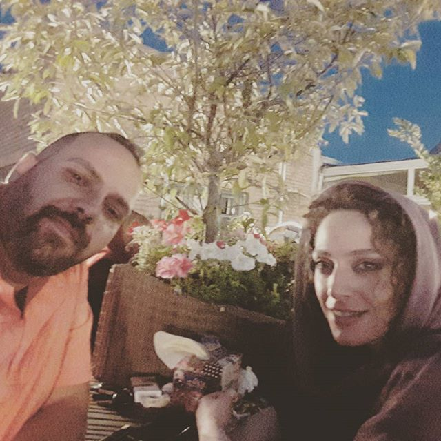 عکس نگین معتضدی و همسرش جواد خیرخواه + بیوگرافی کامل