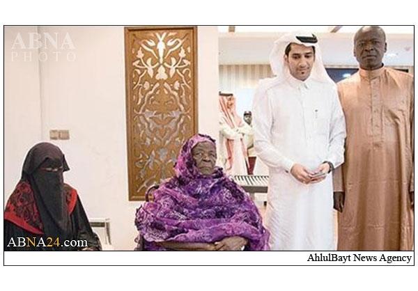عکس مادر بزرگ اوباما در مکه,مادر بزرگ باراک حسین اوباما در مکه,تصاویر سفر مادر بزرگ اوباما در عربستان,مادر بزرگ اوباما در سفر حج,مادر بزرگ شیعه اوباما