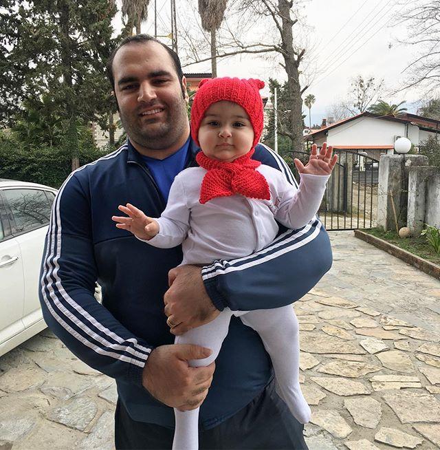 بهداد سلیمی و دخترش سلین + زندگی شخصی