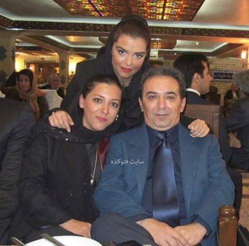 عکس همسر سابق رویا تیموریان و دخترانش