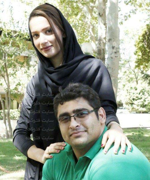 عکس بشیر باباجان زاده و همسرش + زندگینامه