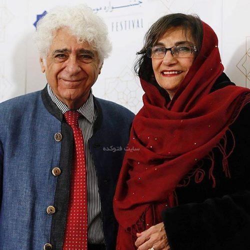 عکس لوریس چکناواریان و همسرش