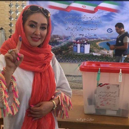 عکس بازیگران انتخابات 96 در حال رای دادن