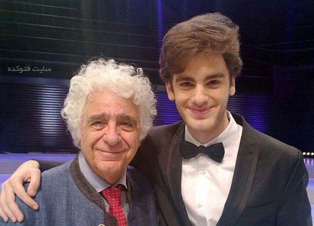 لوریس چکناواریان و پسرش