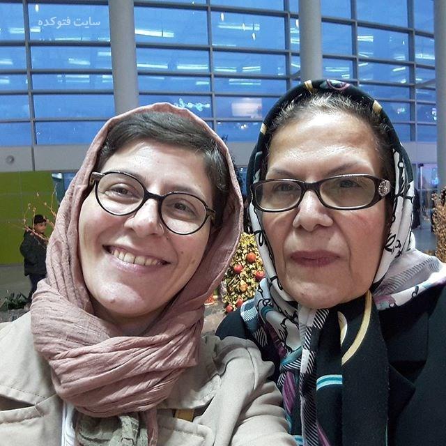 عکس سوسن پرور و مادرش + بیوگرافی