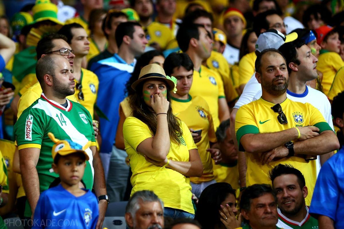 اه و اندور تماشاگران برزیلی جام جهانی 2014