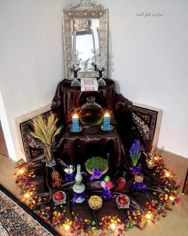 عکس هفت سینی عید نوروز 99 با ایده جدید