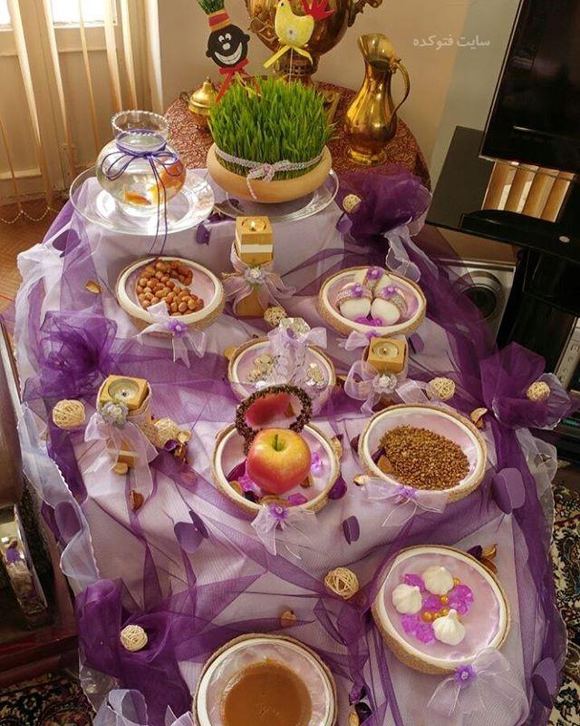ایده های جدید هفت سین عید نوروز
