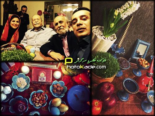 عکس سفره هفت سین های بازیگران,سفره هفت سین بازیگران در سال 94,عکس هفت سین های بازیگران 1394,سفره آرایی بازیگران در عید نوروز 94,هفت سین بازیگران ایرانی 94