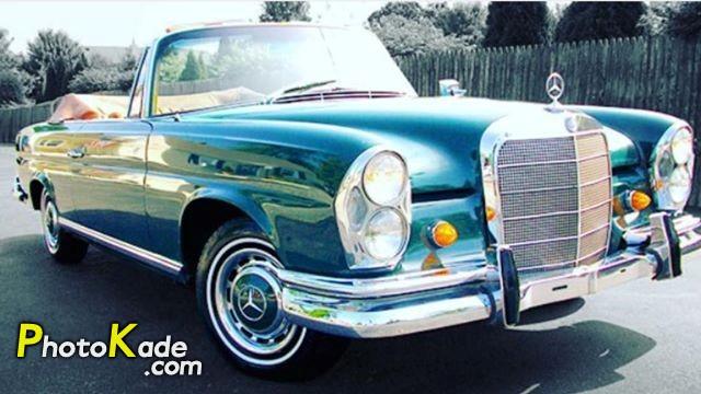 عکس ماشین های قدیمی مرسدس بنز