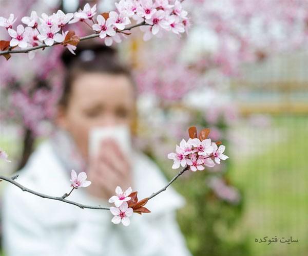 درمان حساسیت فصلی و تنفسی در منزل