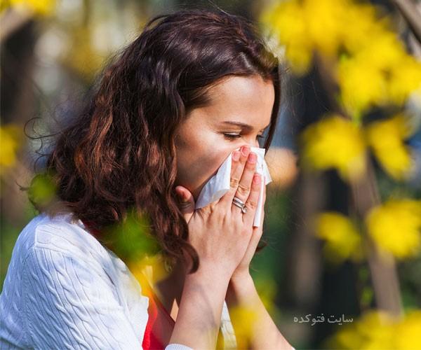 درمان آلرژی تنفسی و فصلی در منزل