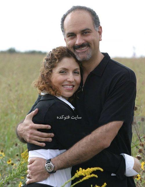 عکس انوشه انصاری و همسرش حمید انصاری + زندگینامه و ازدواج