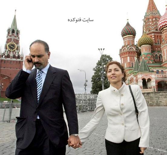حمید انصاری همسر و شوهر انوشه انصاری + بیوگرافی
