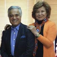 بیوگرافی انوشیروان روحانی و همسرش گیتی دریابیگی + خانواده