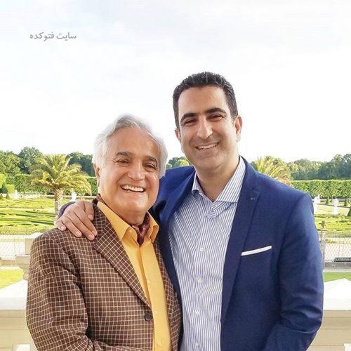 عکس انوشیروان روحانی و پسرش رضا روحانی + بیوگرافی کامل