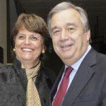 بیوگرافی آنتونیو گوترش و همسرش + سازمان ملل و عکس