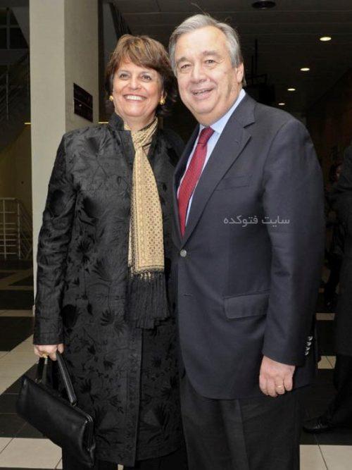 همسر آنتونیو گوترش دبیرکل سازمان ملل