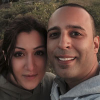 بیوگرافی آرش لباف خواننده | عکس آرش و همسرش بهناز انصاری