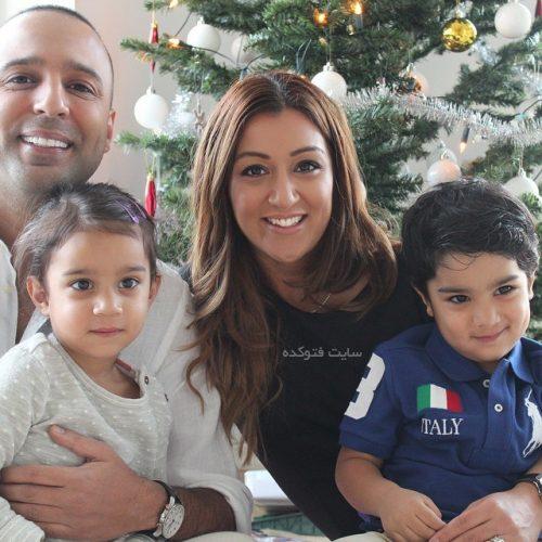 عکس خانوادگی آرش لباف خواننده