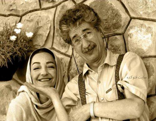 عکس بهرام شاه محمدلو و همسرش راضیه برومتد + بیوگرافی کامل