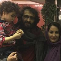 عکس و بیوگرافیبهروز شعیبی و همسرش فاطمه کمالی