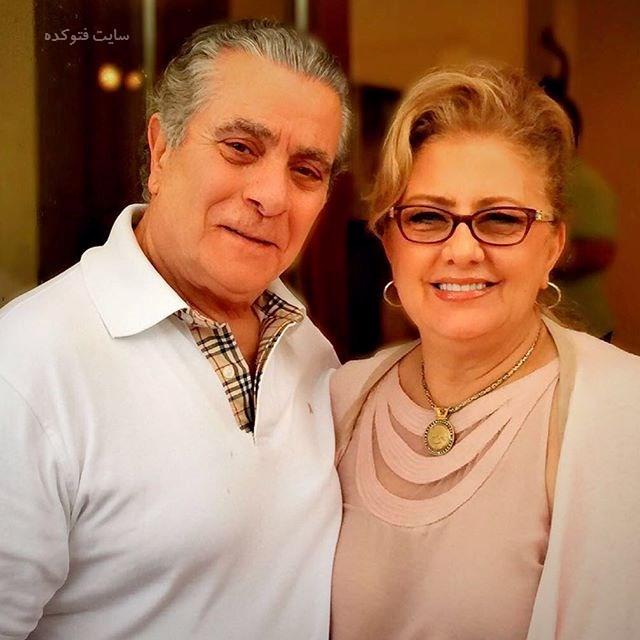 عکس بهروز وثوقی و همسرش کتایون امجدی + بیوگرافی
