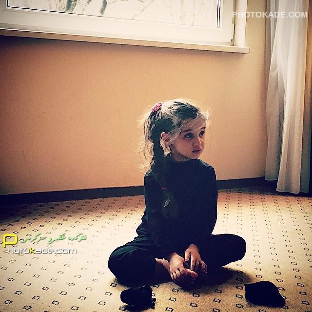عکس جدید دختر بنیامین بهادری