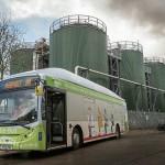 اولین اتوبوس با سوخت گاز مدفوع