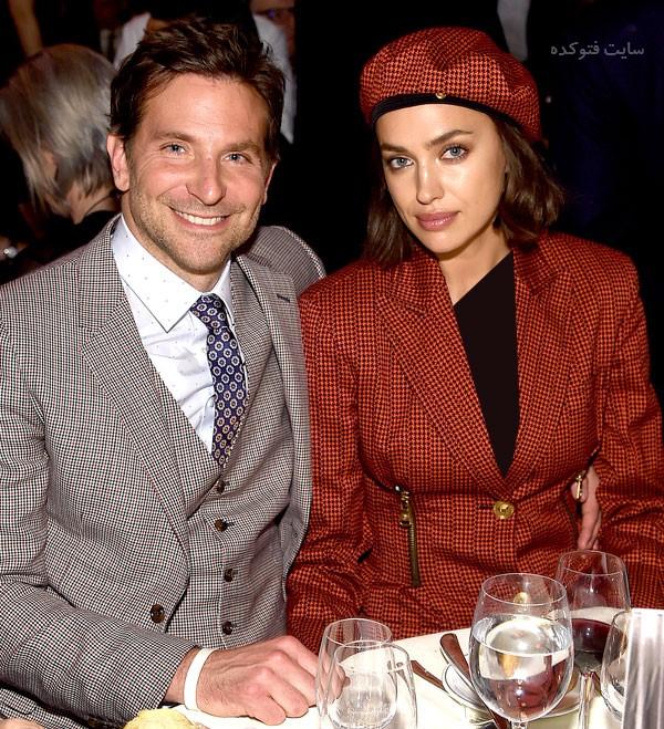بردلی کوپر و همسرش ایرینا شایک