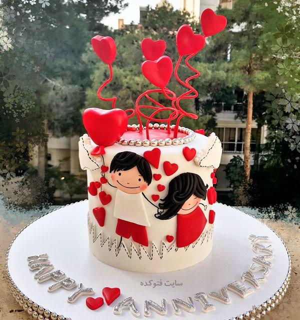 عکس های کیک نامزدی و جشن سالگرد ازدواج