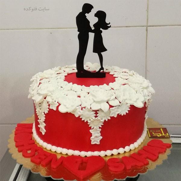 کیک خاص و خفن برای سالگرد ازدواج