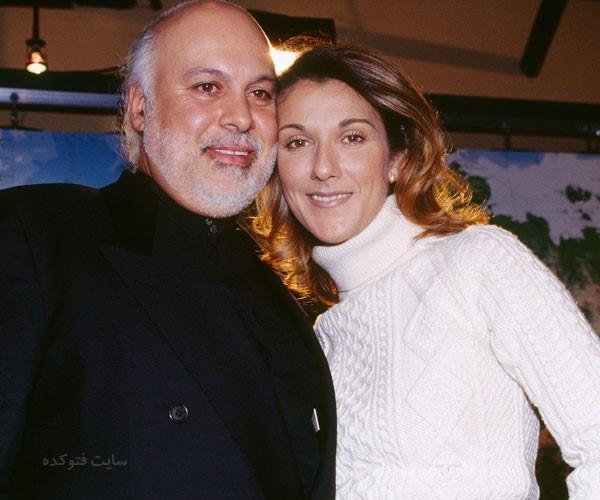 سلین دیون و همسرش رنه آنژلیل + بیوگرافی کامل