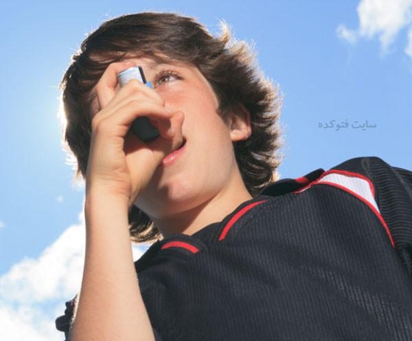 درمان آسم کودکان در خانه