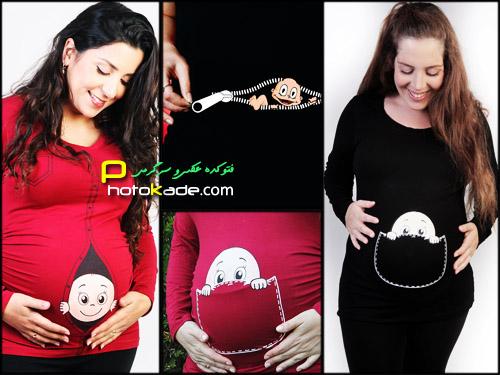 عکس بارداری زنان