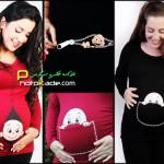 عکس لباس جالب برا زنان حامله