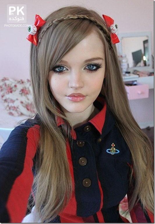 عکس باربی واقعی زیباترین دختر جهان,عکس دختر خوشگل,عکس زیباترین دختر جهان,عکس های دختر زیبا و خوشگل جوان,عکس دختر جوان زیبا در جهان,عکس های باربی,دختر خوشگل