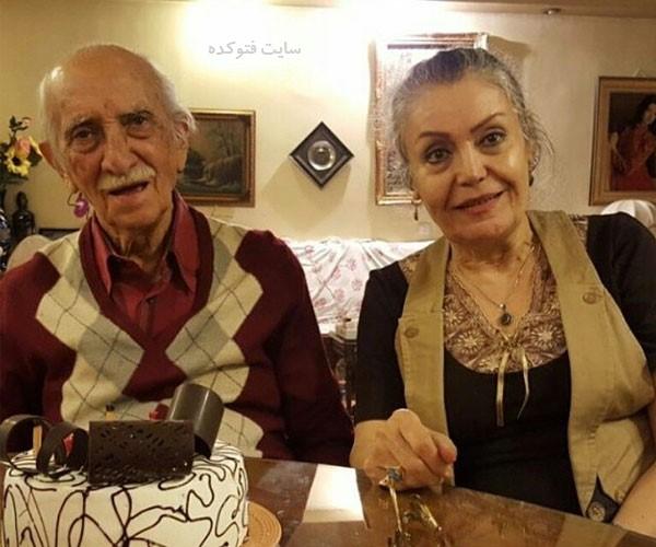 بیوگرافی داریوش اسدزاده و همسرش با عکس جدید