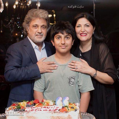 عکس داریوش اقبالی و همسر سومش ونوس + پسرش میلاد با بیوگرافی کامل
