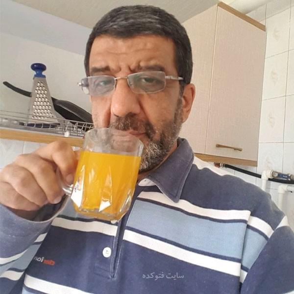 زندگینامه سید عزت الله ضرغامی با عکس شخصی خانوادگی