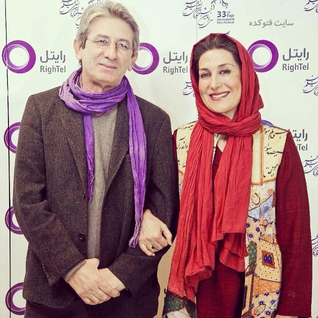فاطمه معتمدآریا و همسرش احمد حامد + بیوگرافی کامل