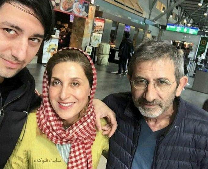همسر فاطمه معتمدآریا و پسرش نریمان + بیوگرافی
