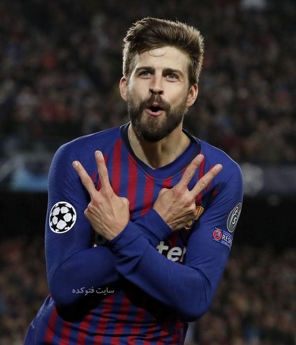 بیوگرافی جرارد پیکه بازیکن فوتبال بارسلونا