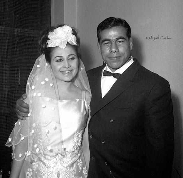عکس شهلا توکلی همسر غلامرضا تختی + بیوگرافی