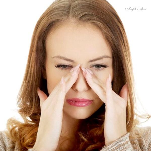 رفع گرفتگی بینی در خانه