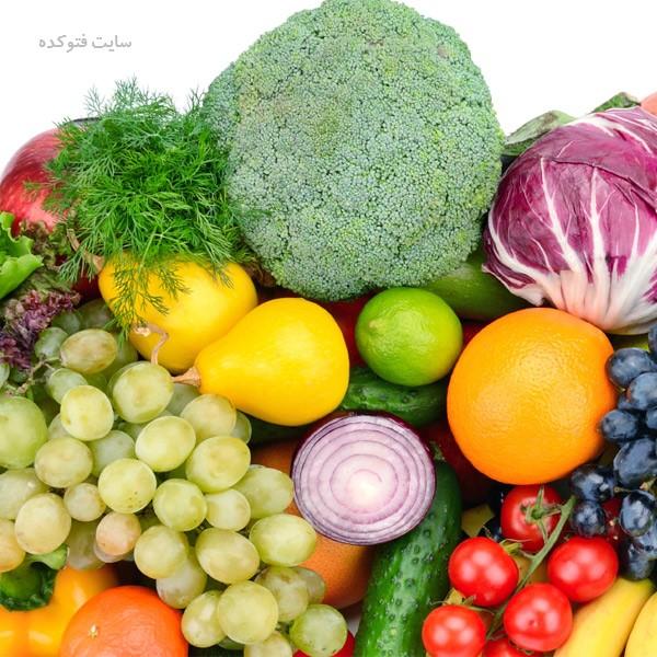 رژیم غذایی برای پوست زیبا و شفاف
